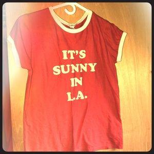 """It's Sunny In LA"" Graphic Tee"